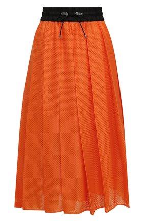 Женская юбка MONCLER оранжевого цвета, арт. F2-093-2D713-00-C0547 | Фото 1
