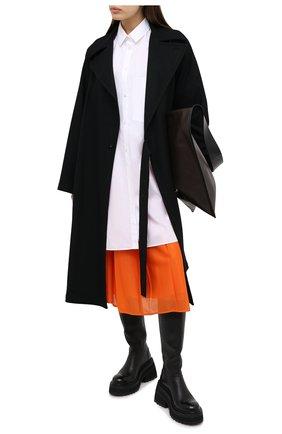 Женская юбка MONCLER оранжевого цвета, арт. F2-093-2D713-00-C0547 | Фото 2