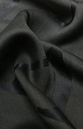 Женская шаль из шелка и шерсти VALENTINO серого цвета, арт. UW0EB104/ZVG | Фото 2