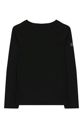 Детская шерстяной лонгслив POIVRE BLANC черного цвета, арт. 279598 | Фото 1