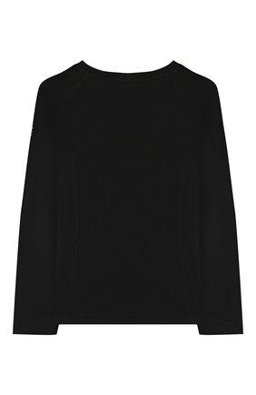 Детская шерстяной лонгслив POIVRE BLANC черного цвета, арт. 279598 | Фото 2