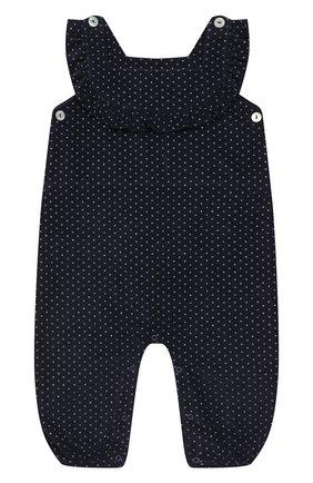 Детский хлопковый комбинезон LES LUTINS PARIS темно-синего цвета, арт. 20H383/S0PHIE | Фото 1