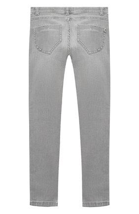 Детские джинсы ERMANNO SCERVINO серого цвета, арт. 47I JL06 JNS/4-8 | Фото 2