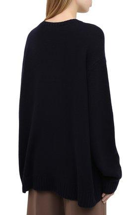 Женский кашемировый пуловер RALPH LAUREN темно-синего цвета, арт. 293829121 | Фото 4