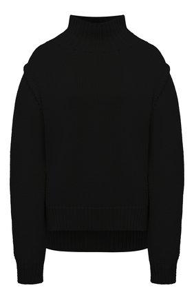 Женский кашемировый свитер JIL SANDER черного цвета, арт. JSWR754301-WRY10048 | Фото 1