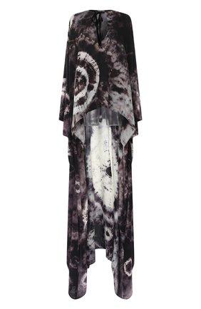 Женское шелковая туника TOM FORD черно-белого цвета, арт. KF0003-FAX768 | Фото 1