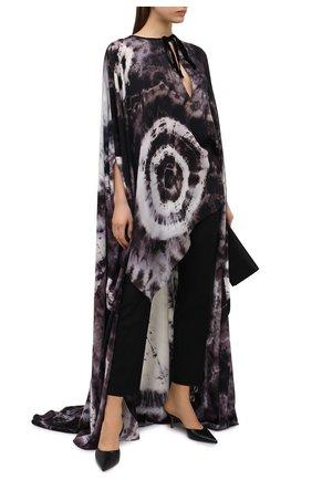 Женское шелковая туника TOM FORD черно-белого цвета, арт. KF0003-FAX768 | Фото 2
