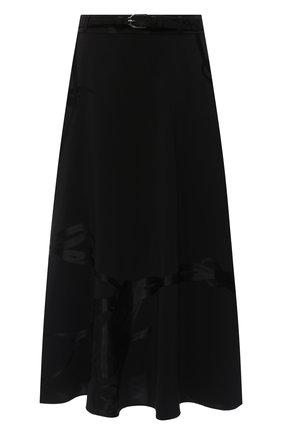 Женская юбка из вискозы RALPH LAUREN черного цвета, арт. 290825815 | Фото 1