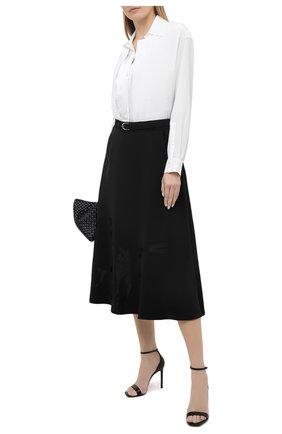 Женская юбка из вискозы RALPH LAUREN черного цвета, арт. 290825815 | Фото 2