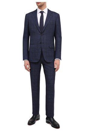 Мужской кашемировый костюм KITON темно-синего цвета, арт. UA81K01T10 | Фото 1