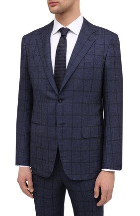 Мужской кашемировый костюм KITON темно-синего цвета, арт. UA81K01T10 | Фото 2