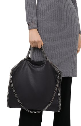 Женский сумка falabella  STELLA MCCARTNEY темно-серого цвета, арт. 234387/W9132 | Фото 2