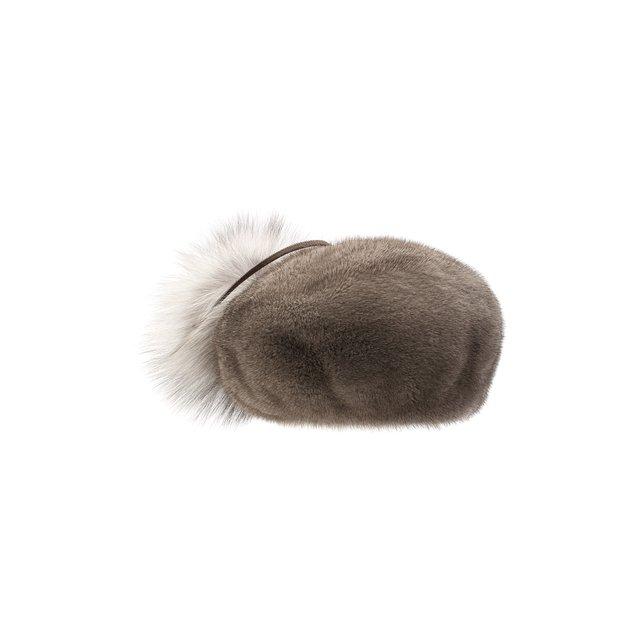 Берет из меха норки Итальянский FurLand