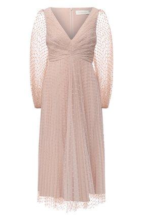 Женское платье ZIMMERMANN светло-розового цвета, арт. 8907DLKY | Фото 1