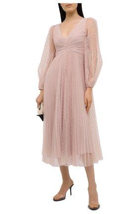 Женское платье ZIMMERMANN светло-розового цвета, арт. 8907DLKY | Фото 2