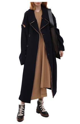 Женские кожаные ботинки SANTONI черного цвета, арт. WTWW58814SQ0ANYBN01 | Фото 2