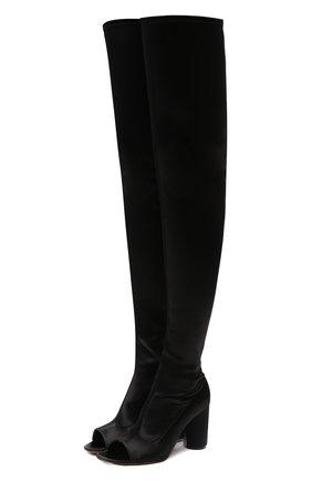 Женские текстильные ботильоны VETEMENTS черного цвета, арт. WAH21B0206 1382   Фото 1