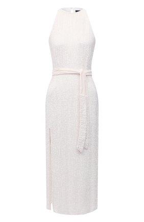 Женское платье из вискозы RETROFÊTE белого цвета, арт. HL20-2424 | Фото 1