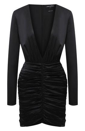 Женское шелковое платье RETROFÊTE черного цвета, арт. PF20-2858 | Фото 1