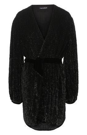 Женское платье из вискозы RETROFÊTE черного цвета, арт. SS20-2720 | Фото 1