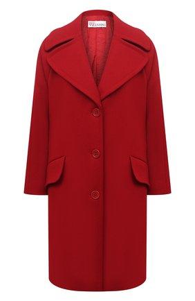 Женское пальто REDVALENTINO красного цвета, арт. UR0CAC40/497 | Фото 1