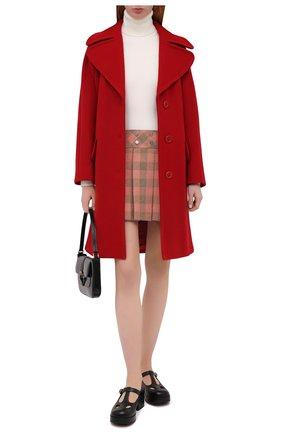Женское пальто REDVALENTINO красного цвета, арт. UR0CAC40/497 | Фото 2