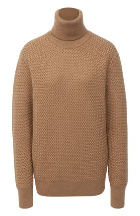 Женская шерстяной свитер DOLCE & GABBANA бежевого цвета, арт. FX898T/JAM5C | Фото 1