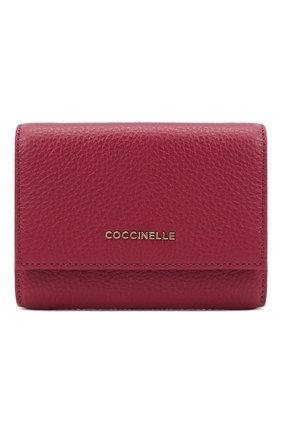 Женские кожаный кошелек COCCINELLE фиолетового цвета, арт. E2 GW5 11 10 01 | Фото 1