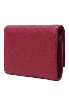 Женские кожаный кошелек COCCINELLE фиолетового цвета, арт. E2 GW5 11 10 01 | Фото 2