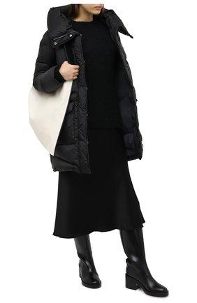 Женский пуховик LEMPELIUS черного цвета, арт. 1000/289S25 | Фото 2