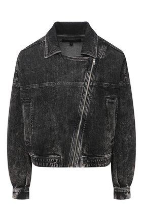 Женская джинсовая куртка J BRAND серого цвета, арт. JB003119   Фото 1