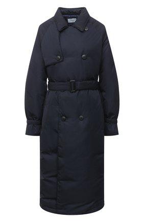 Женский пуховое пальто TANAKA темно-синего цвета, арт. ST-49D | Фото 1