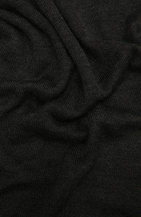Мужские шарф из кашемира и шелка CRUCIANI темно-серого цвета, арт. AC7070 | Фото 2