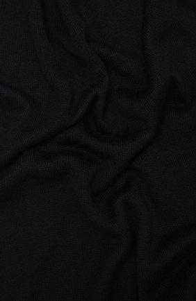 Мужские шарф из кашемира и шелка CRUCIANI темно-синего цвета, арт. AC7070 | Фото 2