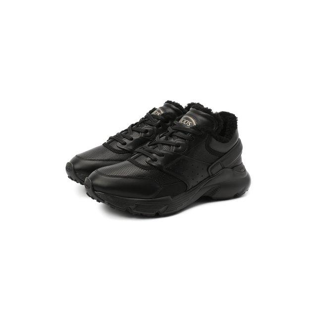 Кожаные кроссовки Tod's