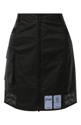 Женская юбка MCQ черного цвета, арт. 623781/RPF22 | Фото 1