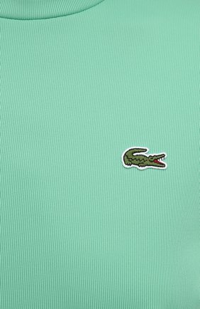 Женская водолазка LACOSTE бирюзового цвета, арт. TH2849   Фото 5