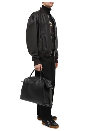 Мужская кожаная дорожная сумка GIVENCHY черного цвета, арт. BK507NK0ZZ | Фото 2