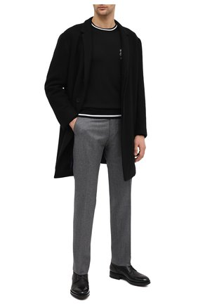 Мужские кожаные ботинки SANTONI черного цвета, арт. MC0S14573UL3APILN51 | Фото 2