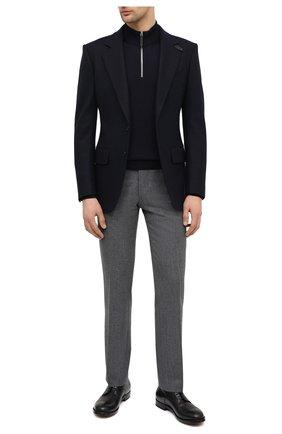 Мужской кожаные дерби SILVANO SASSETTI черного цвета, арт. S151144517GREVDNER0 | Фото 2