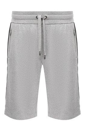 Мужские хлопковые шорты DOLCE & GABBANA светло-серого цвета, арт. GYWUAT/G7WSP | Фото 1