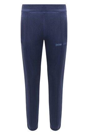 Мужской брюки PALM ANGELS темно-синего цвета, арт. PMCA023F20FAB0024646 | Фото 1