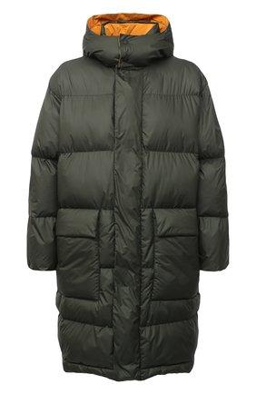 Мужская утепленное пальто STELLA MCCARTNEY хаки цвета, арт. 601725/SPN04 | Фото 1
