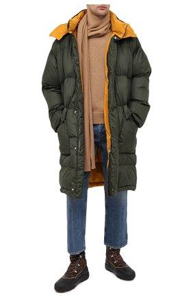 Мужская утепленное пальто STELLA MCCARTNEY хаки цвета, арт. 601725/SPN04 | Фото 2