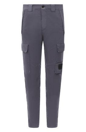 Мужской хлопковые брюки-карго C.P. COMPANY темно-синего цвета, арт. 09CMPA135A-005529G | Фото 1