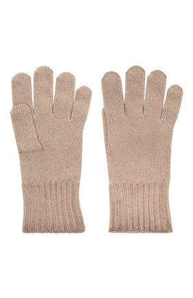 Мужские кашемировые перчатки CRUCIANI темно-бежевого цвета, арт. MG5 | Фото 2