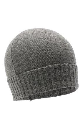 Мужская кашемировая шапка CRUCIANI серого цвета, арт. AU22.030 | Фото 1