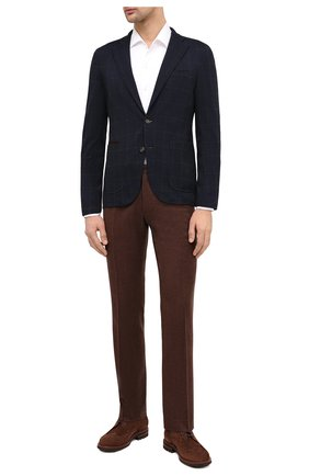 Мужской пиджак LUCIANO BARBERA темно-синего цвета, арт. 111210/19077 | Фото 2