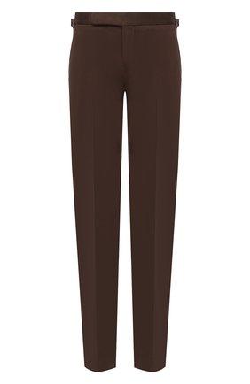 Мужской хлопковые брюки RALPH LAUREN коричневого цвета, арт. 798819420 | Фото 1