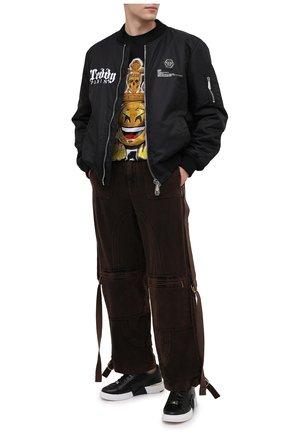 Мужской хлопковые брюки DOLCE & GABBANA коричневого цвета, арт. GWAJHT/G8DD0 | Фото 2